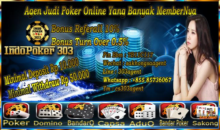 Situs Poker Online Terbaik Banyak MemberNya