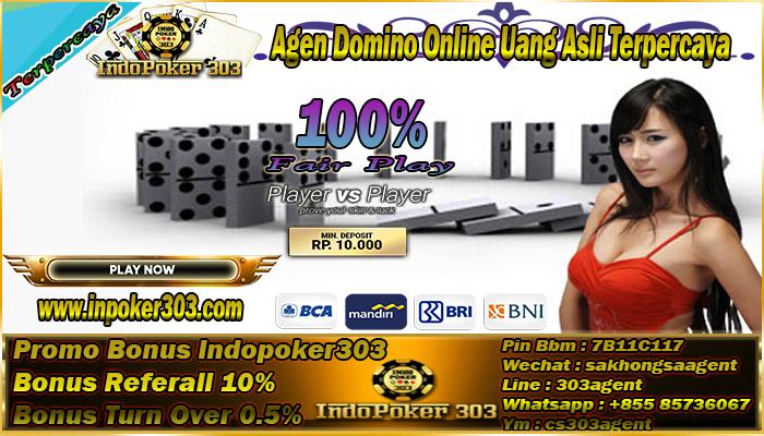 Agen Domino Online Uang Asli Terpercaya