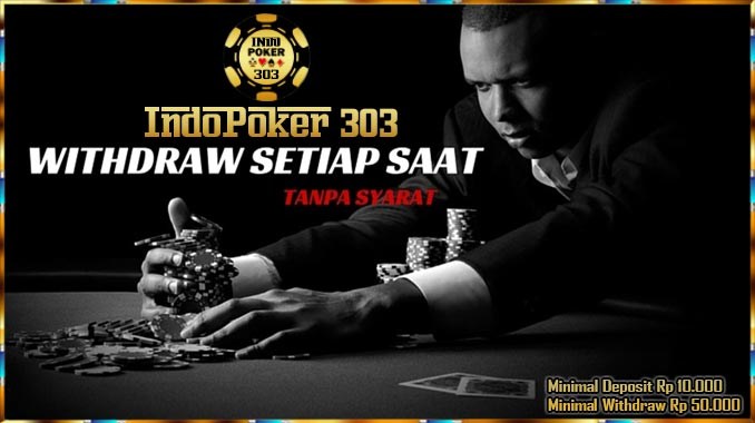 Indopoker303.com Permainan poker online adalah salah satu jenis dari permainan judi kartu remi yang memang sangat di cari bagi setiap kalangan pejudi yang sudah