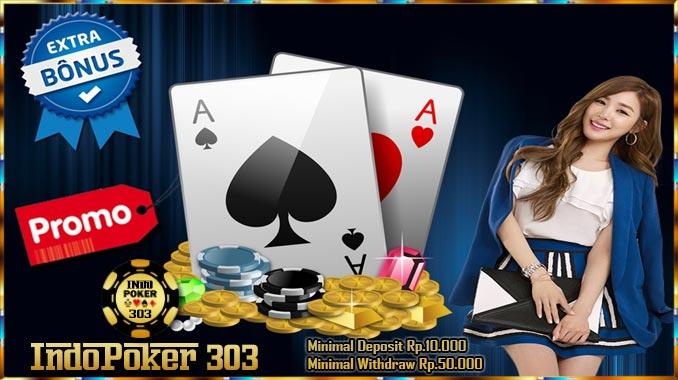Indopoker303.com Keuntungan bermain judi poker online di agen poker teraman, memang tidak sedikit yang menuliskan bahwa mereka saat ini merupakan agen poker