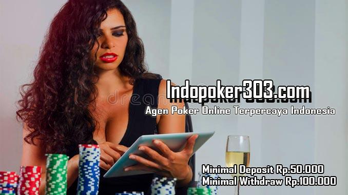 Indopoker303 adalah situs Poker Online Indonesia yang menawarkan jenis permainan judi kartu online secara fairplay alias menjunjung tinggi sportifitas. disini saya akan membuat sebuah review situs agen judi indopoker303 sebagai cara pembuktian bahwa situs ini terpercaya dan juga aman.