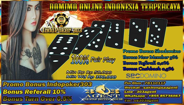 Promo Menarik Dari Bandar Domino Online Indonesia