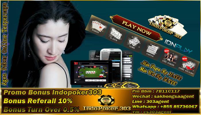 Berbagai Macam Bonus Di Situs Poker Online Indonesia