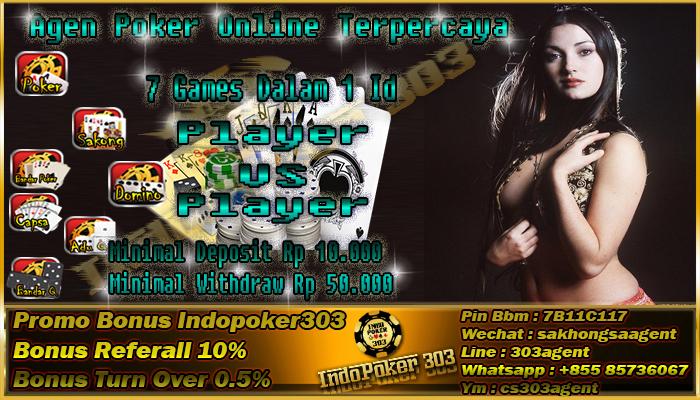 Agen Poker Online Dengan Pelayanan Terbaik Di Indonesia
