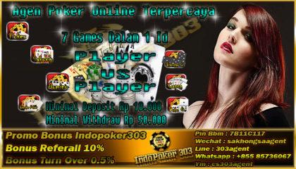 Indopoker303 Situs Judi Domino Online Uang Asli Terpercaya